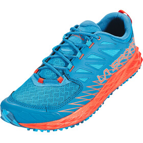 La Sportiva Lycan Running Shoes Men tropic blue/tangerine